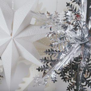 Flocon Milar 36» & Étoile 7 blanc 36»