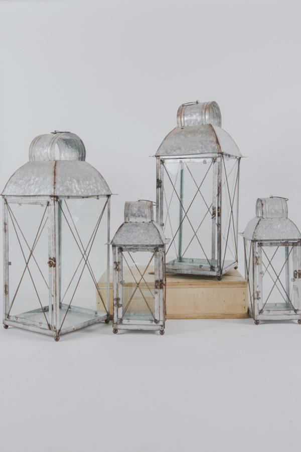 Metal vintage lantern 30»-12»