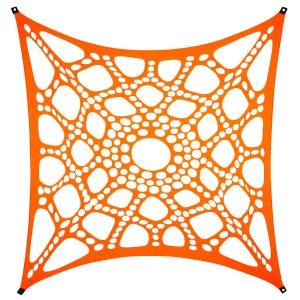 PSYWORK-Schwarzlicht-Segel-Spandex-Neon-Spiderweb-Orange-3x3m__145018175_02
