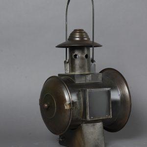 Railroad Lantern avec flame a piles (4)
