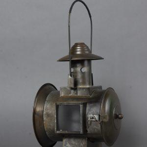 Railroad Lantern avec flame a piles (5)
