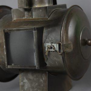 Railroad Lantern avec flame a piles (6)