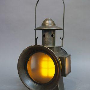 Railroad Lantern avec flame a piles (7)