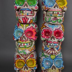 Skull x3 UV Tower (2)