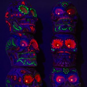 Skull x3 UV tower BLK (5)